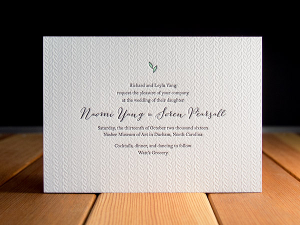 Specializing In Letterpress Printed Goods