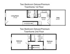 Two Bedroom Standard Style (#02)