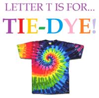 Letter T is for Tie-Dye Week is Next! | Park Prep ...