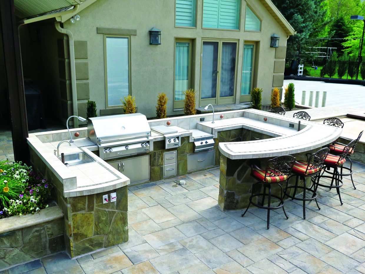 how to make an outdoor kitchen used tables the most of your parkrecord com img 1957