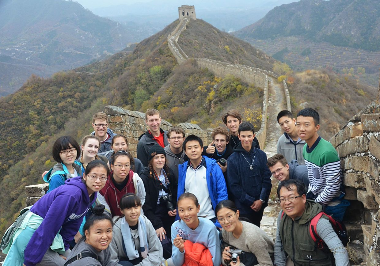 Park City High School Students Participate In China