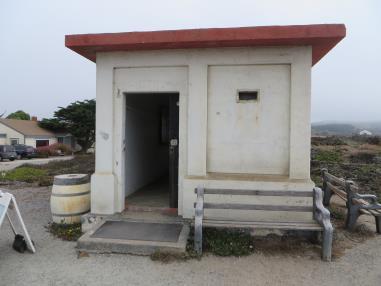 Outside of Oil Bunker before Renovation