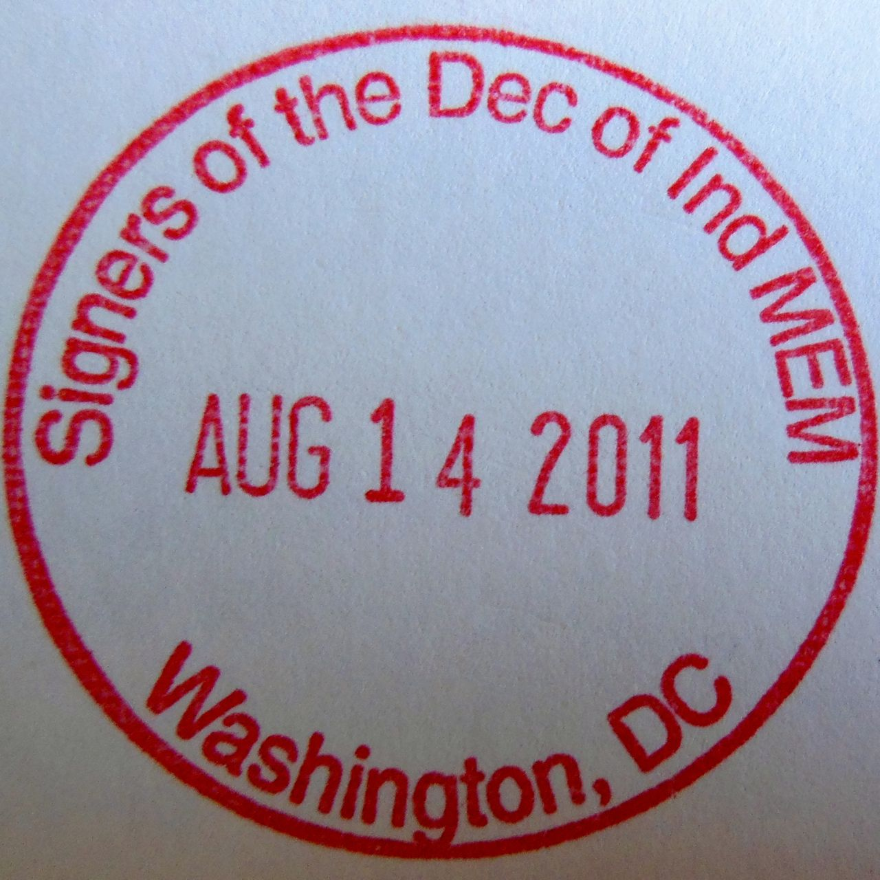 Stamp Hunting In DC: The National Mall & Memorial Parks