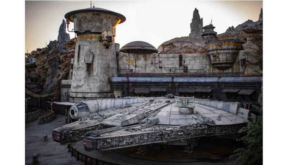 Millennium Falcon Smugglers Run Attraction