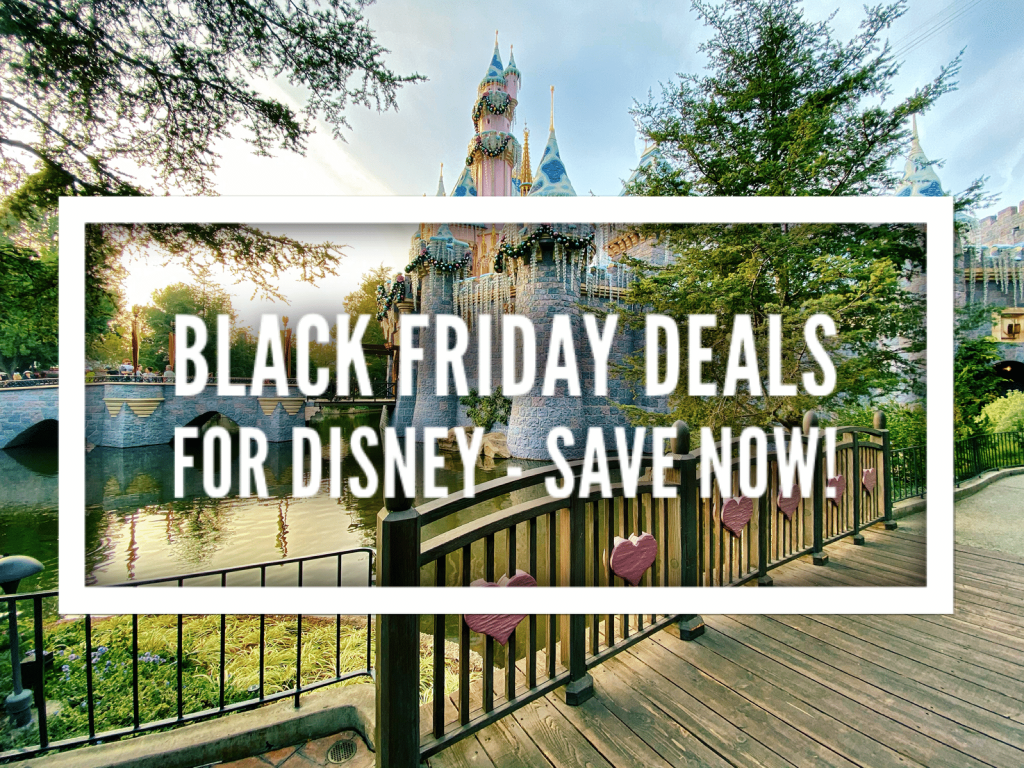 Black Friday Deals for Disney