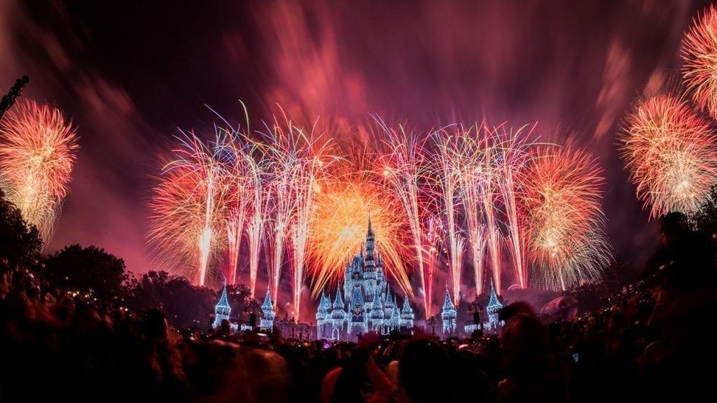 Magic Kingdom New Year