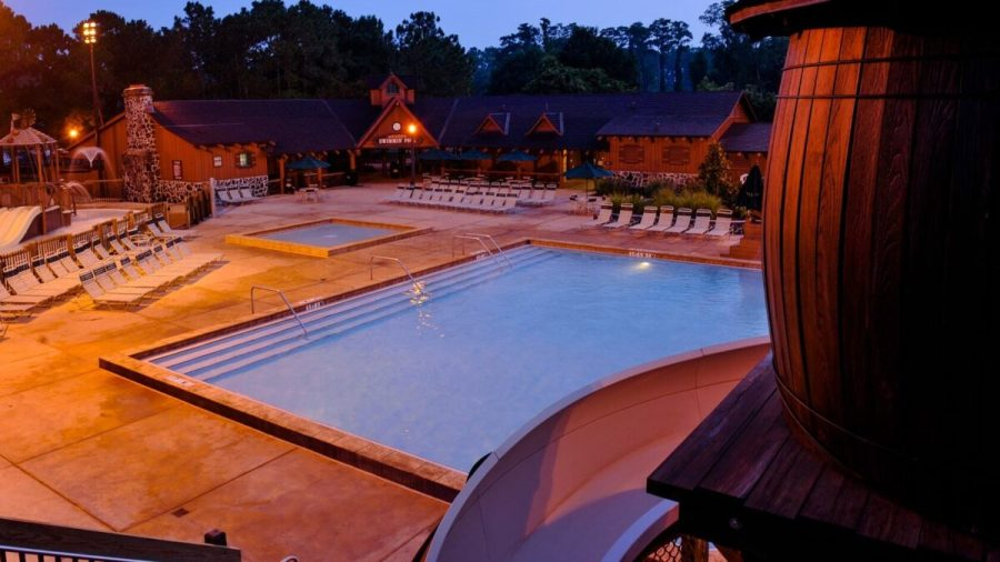 Outdoor pool at Fort Wilderness