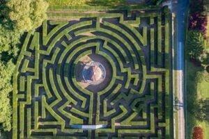 labirinto parco giardino sigurtà