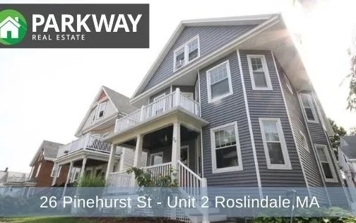 For Rent: 26 Pinehurst St – Unit 2, Roslindale – PENDING