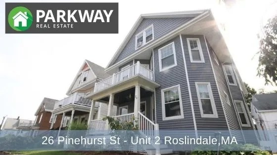 For Rent: 26 Pinehurst St – Unit 2, Roslindale – RENTED