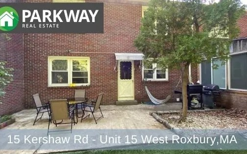 15 Kershaw Rd – Unit 15, West Roxbury