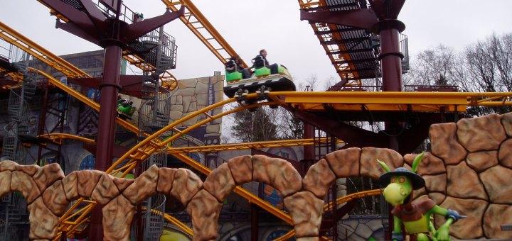 Ghost Chasers Movie Park Germany Parkwelten Freizeitparks
