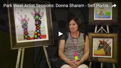 Donna Sharam The Color Queen of Australia  Park West Gallery