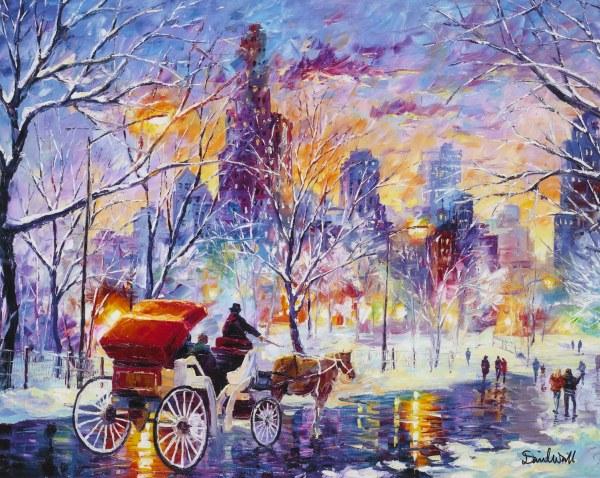 8 Breathtaking Works Of Winter Art Put In