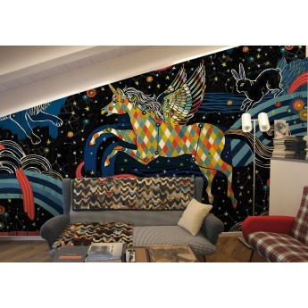 Constellations Ceiling Wallpaper Taraba Home Review