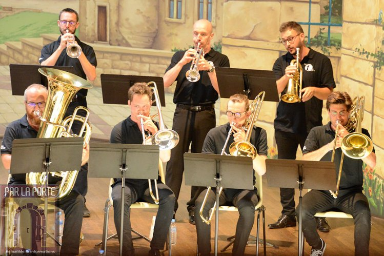 Cuivres en Ardennes, concert d'ouverture de stage, 2019