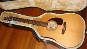 La guitare de mes débuts