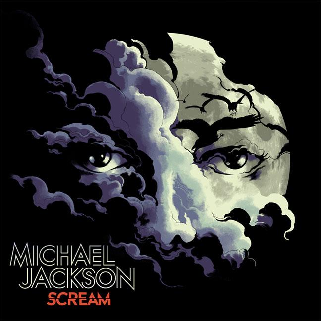 Michael Jackson Scream album cover