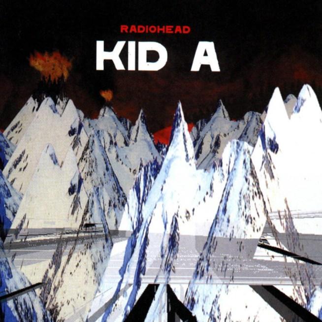 5. kid A radiohead