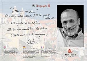 Carlo Petrini cittadino onorario