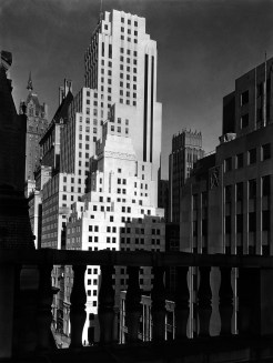 Squibb Building with Sherry Netherland in background, New York, 1935