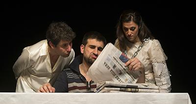 Fabio Paroni, Paolo Faroni e Laura Pozone (©gabriele lopez)