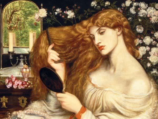 Dante Gabriel Rossetti, Lady Lilith, 1866-1868