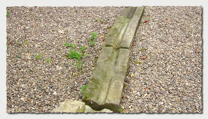Sections of Old Stone Gutters