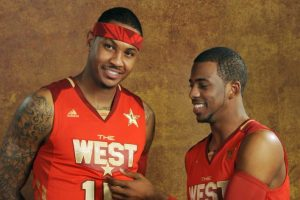 NBA - Chris Paul ferait le forcing pour faire venir Carmelo Anthony