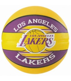 BALLON SPALDING NBA LOS ANGELES LAKERS TAILLE 7