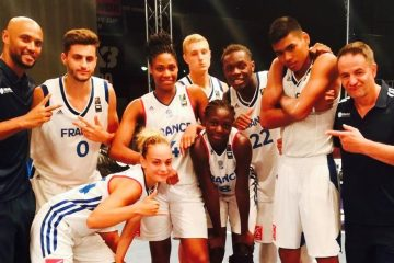 Les équipes de France de 3x3.