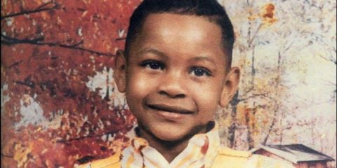 Carmelo Anthony, enfant.