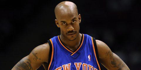 Stephon Marbury sous le maillot des Knicks.