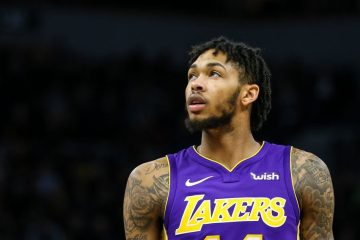 Brandon Ingram sous le maillot des Lakers