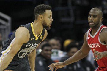 Stephen Curry affronte Chris Paul, les deux joueurs les mieux payés en NBA.