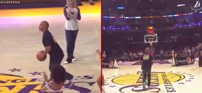 Un fan des Lakers gagne 45.000 dollars