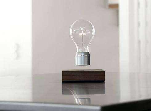 lampe à lévitation électromagnétique