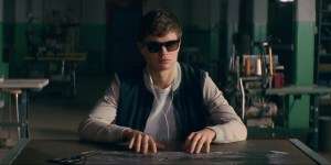Ansel Elgort Baby Driver