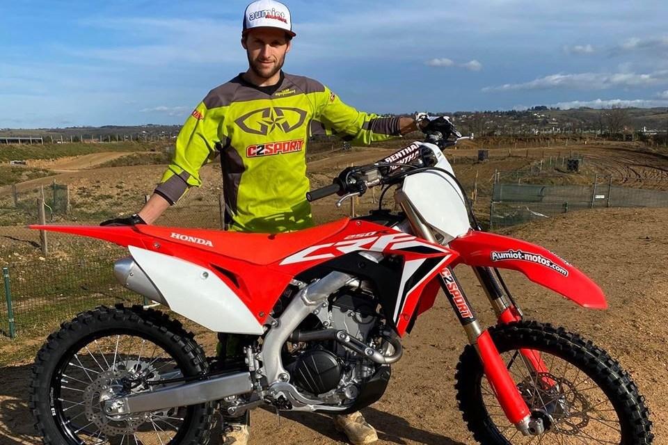 Motocross : Nouvelle saison en National MX2 pour Cyril Cachet