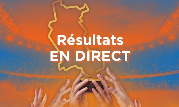Résultats du deuxième tour de la Coupe des Clubs de la Loire
