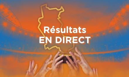 Découvrez les résultats du premier tour de la Coupe des Clubs de la Loire