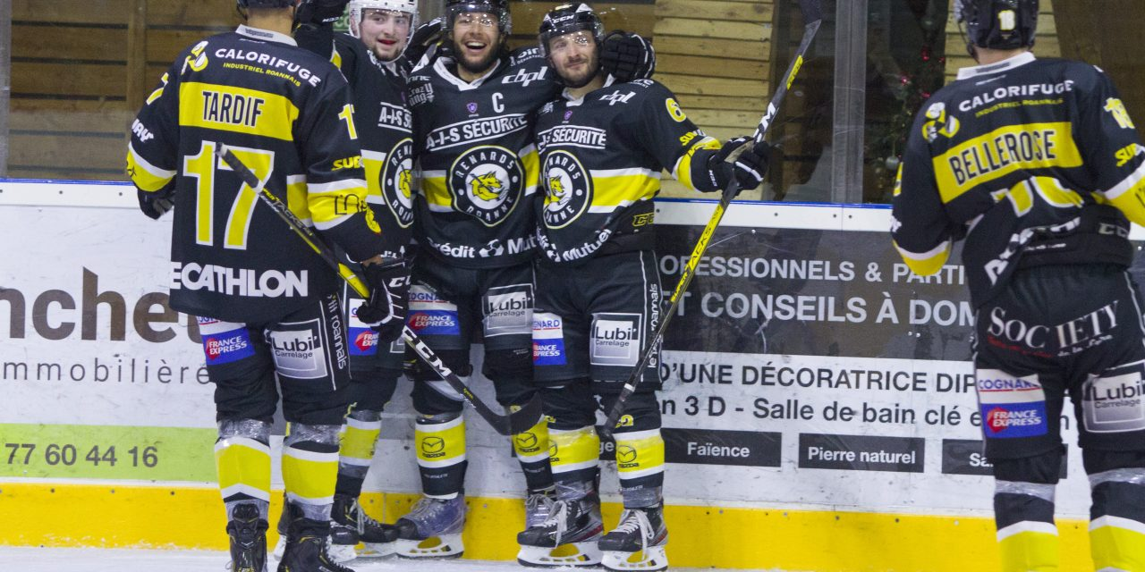 """Charles-Olivier Ouimet (Roanne Hockey) : """"On continue à s'entraîner dur"""""""