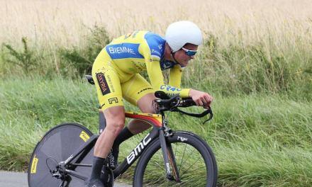 Un coureur du CR4C se distingue en contre la montre