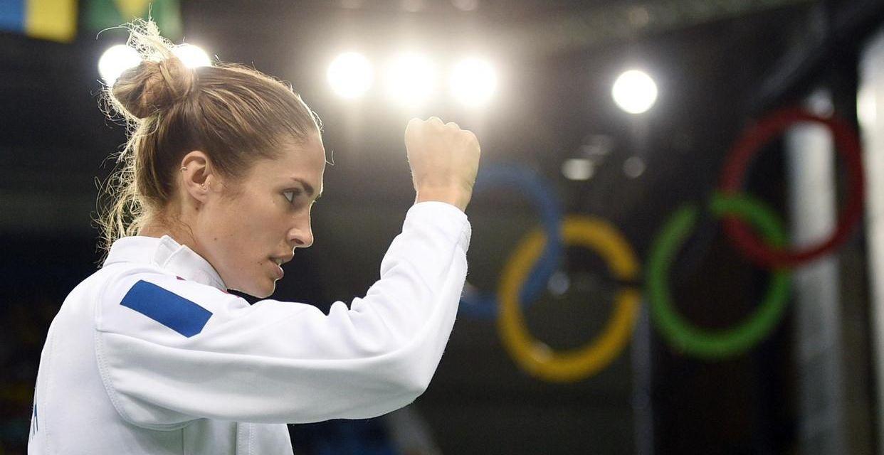 La Stéphanoise Elodie Clouvel, médaillée aux Championnats du Monde hier, qualifiée pour les Jeux de Tokyo