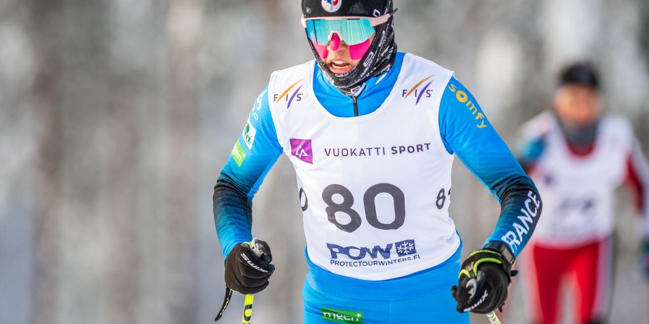 Ski de fond : Première expérience internationale pour Liv Coupat