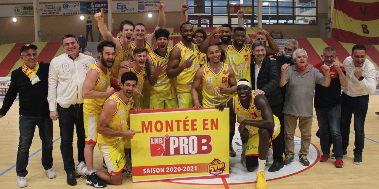 Marc-Antoine Pellin et Saint-Vallier promus en Pro B