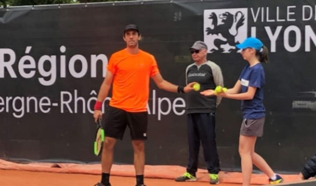 Une savignolaise à Roland Garros !