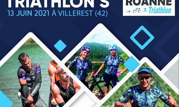 Le triathlon de Villerest a lieu ce dimanche