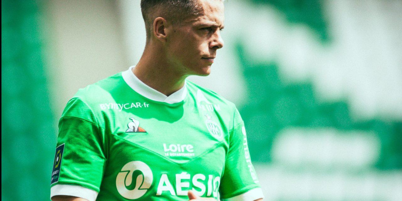 Romain Hamouma prolonge d'un an avec l'AS Saint-Etienne