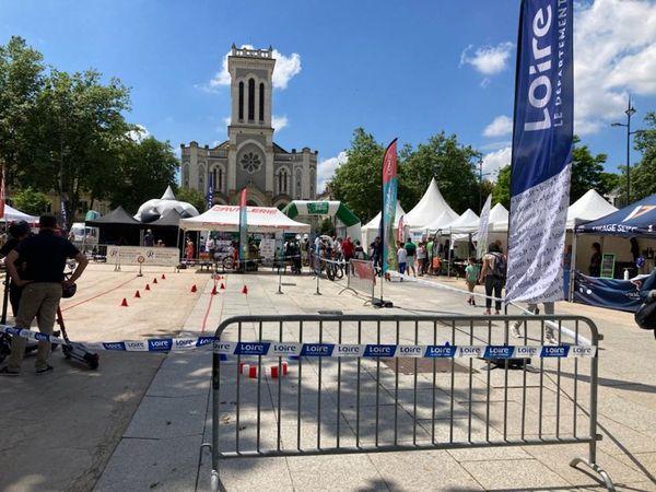 Lancement du Bike & Troc Festival à Saint-Étienne